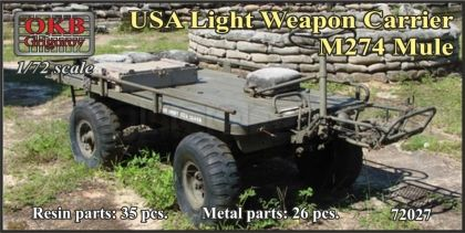 USA Light Weapon Carrier M274 Mull
