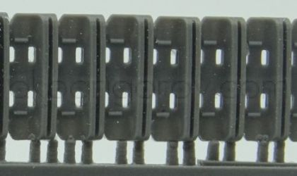 1/72 Tracks for Churchill, Heavy Cast Steel