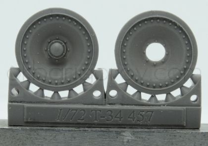 1/72 Wheels for T-34, adapted Panther wheels type 1