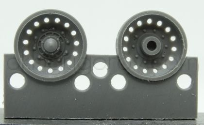 1/72 Wheels for Challenger 2, type 3
