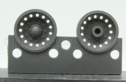 1/72 Wheels for Challenger 2, type 4