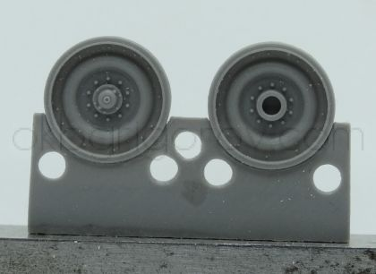 1/72 Wheels for Type 74