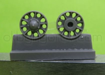 1/72 Idler wheel for T-34 mod.1941,