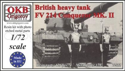 British heavy tank FV 214 Conqueror MK. II