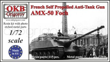 French Self Propelled Anti-Tank Gun AMX-50 Foch
