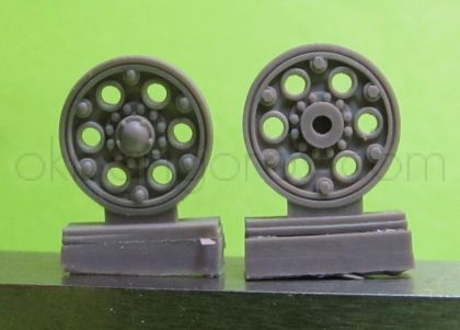 1/72 Sprocket wheel for T-34,mod.1940 type 1