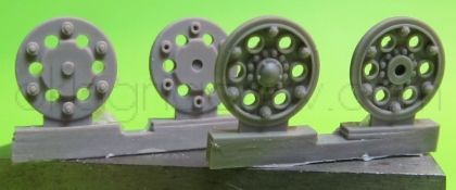 1/72 Sprocket wheel for T-34,mod.1940 type 3
