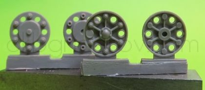 1/72 Sprocket wheel for T-34,mod.1942