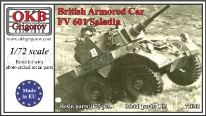 British Armored Car FV 601 Saladin