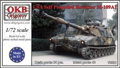 USA Self Propelled Howitzer M109A1