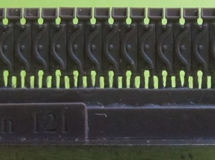 1/72 Tracks for M4 family, T62 with extended end connectors type 1