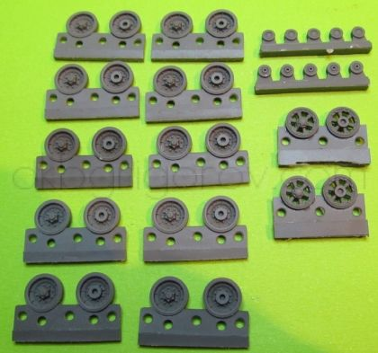 1/72 Wheels for AMX-30