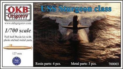 USS Sturgeon class submarine