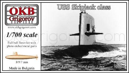 1/700 USS Skipjack class submarine