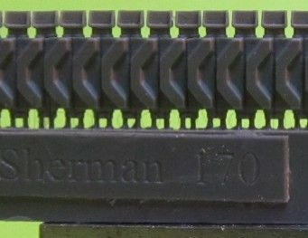 1/72 Tracks for M4 family, T48 with extended end connectors type 1