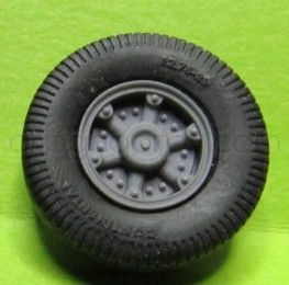 1/72 Wheels for Vomag 7 or 660, type 1