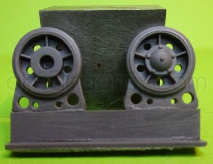Idler wheel for T-34 mod.1940, with rubber bandage