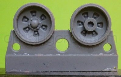 1/72 Wheels for T-72 late / T-90 early