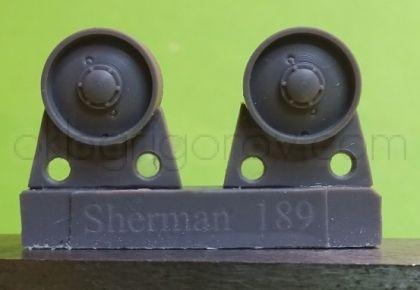 1/72 Idler wheels for M4 family, VVSS solid