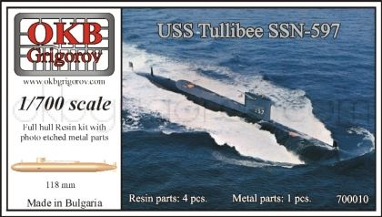 1/700 USS Tullibee SSN-597