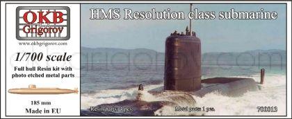 HMS Resolution class submarine