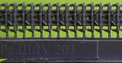 1/72 Tracks for Pz.III/IV , 40 cm, type 1 with ice cleats