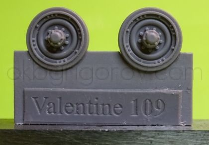 1/72 Wheels for Valentine, type 3