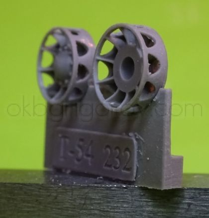 1/72 Early idler wheel for T-54