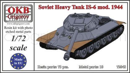 Soviet Heavy Tank IS-6 mod. 1944