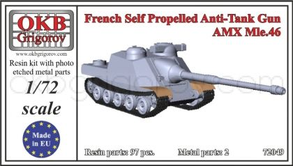 French Self Propelled Anti-Tank Gun AMX Mle.46