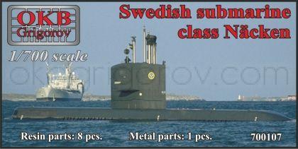 Swedish submarine class Näcken