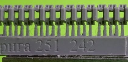 1/72 Tracks for Sd.Kfz.251 and Sd.Kfz.11, type 1