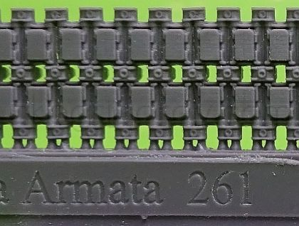 1/72 Tracks for Armata Universal Combat Platform, with rubber pads