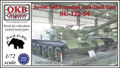 1/72 Soviet Self Propelled Anti-Tank Gun SU-122-54
