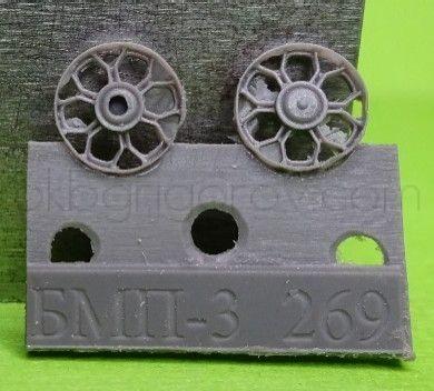 1/72 Idler wheel for BMP-3, type 1
