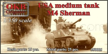 USA medium tank M4 Sherman