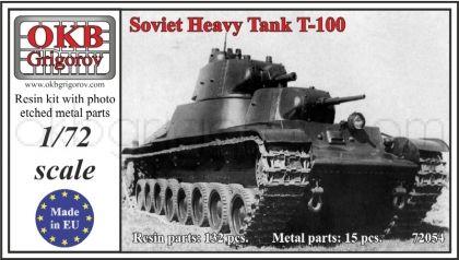 1/72 Soviet Heavy Tank T-100