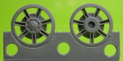 1/72 Idler wheel for Pz.IV, ausf J and H
