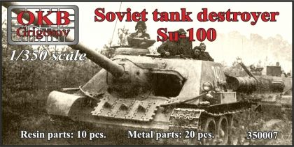 Soviet tank destroyer Su-100