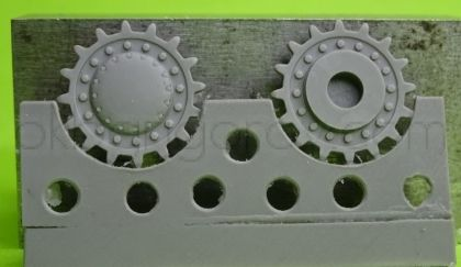1/72 Sprockets for KV-1/2