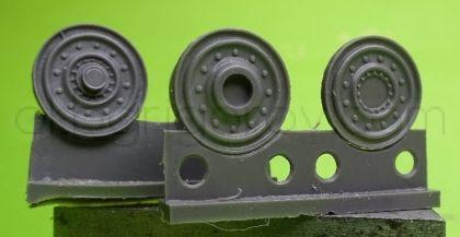 1/72 Wheels for Pz.V Panther, metal