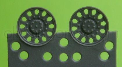 1/72 Idler wheel for Hetzer, type 1