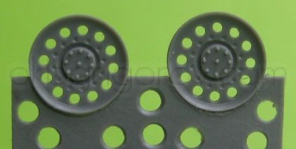1/72 Idler wheel for Hetzer, type 2