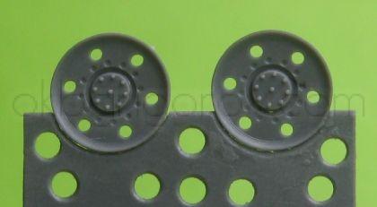 1/72 Idler wheel for Hetzer, type 3