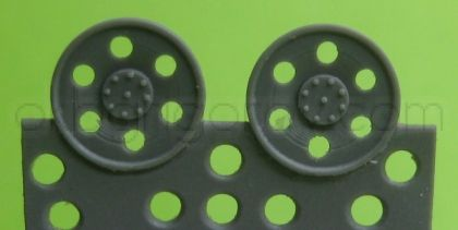 1/72 Idler wheel for Hetzer, type 6