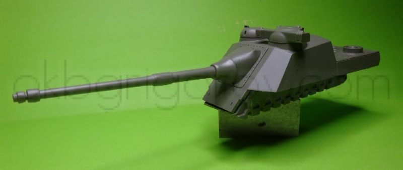 French Self Propelled Anti-Tank Gun AMX Mle 46