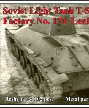 Soviet Light Tank T-50, Factory No. 174  Leningrad 1941