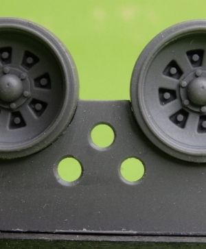 1/48 Wheels for T-72, early