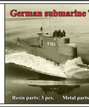 1/350 German submarine Type 205