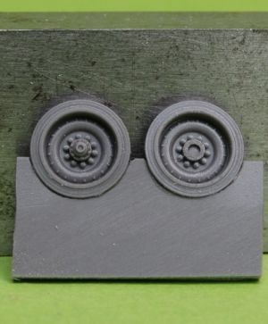 1/72 Wheels for M109